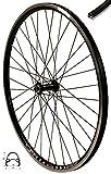 Redondo 27,5 Zoll Vorderrad Laufrad Fahrrad V Profil Felge Schwarz