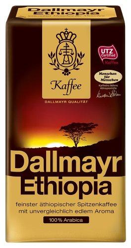 Dallmayr Kaffee Ethiopia 500g Filterkaffee, HVP,4er Pack (4x 500 g )
