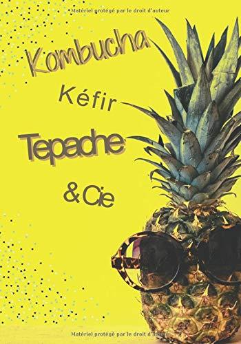 Kombucha Kéfir Tepache & Cie: Cahier à remplir pour recettes boissons fermentées naturelles avec suivi de fermentation-(FR2)