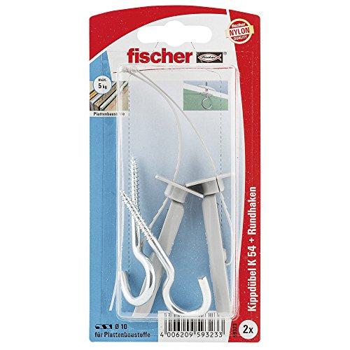 Fischer Kippdübel K 54 K SB-KARTE