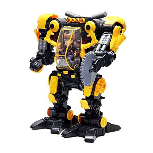 YYQIANG Robot de motosierra eléctrica, juguete para niños y niñas mayores de 2 años de edad, regalo de Navidad cumpleaños para niños (color: amarillo)