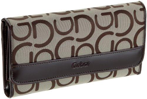 Gabor Enrica 0857, Damen Portemonnaies, Beige (beige 23), 18x10 cm (B x H x T)
