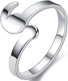 Jude Jewelers Stainless Steel My Story isnt Over Yet Semicolon Promise Anniversary Graduation Ring