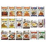 非常食セット 美味しい防災食 お得な18種セット 6日分 長期保存(おかず・お惣菜・麺類)
