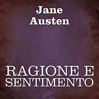 Ragione e sentimento [Sense and Sensibility] audiobook cover art