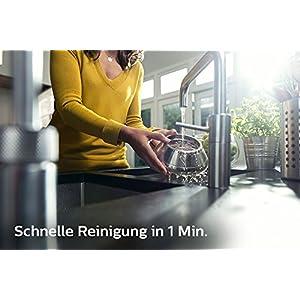 Philips HR1921/20 Entsafter (1100 W, FiberBoost, QuickClean Technologie, Vorspülfunktion) edelstahl
