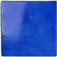【B'stile】海外トレンドのデザインタイル「Cavallo - カヴァッロ」(磁器質 約175×175mm 屋内壁床・屋外壁・浴室壁用)1ケース (ディープブルー)