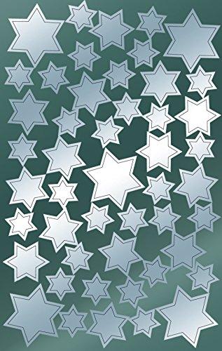 AVERY Zweckform 52812 Weihnachtssticker Sterne 96 Aufkleber