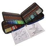 Lapices Colores Profesionales para Adultos y Niños, Juego de 120 Lápices de Dibujo con Minas de Colores Vibrantes, Ideal para Colorear, Mandalas