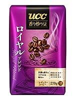 UCC 香り炒り豆 ロイヤルブレンド(豆) 270g袋×6袋入×(2ケース)