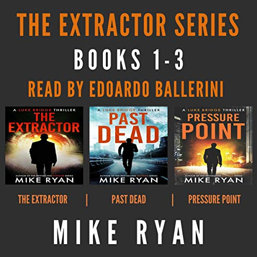 The Extractor Series Books 1-3 cover art