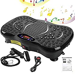 💃【Latest Model】💃Lose weight fast with the smallest yet one of the most powerful vibration plate on the market. Whole-Body vibration helps fat burning, increase muscle tone, strength, circulation, shapes, strengthens whole body and tightens skin. Insi...