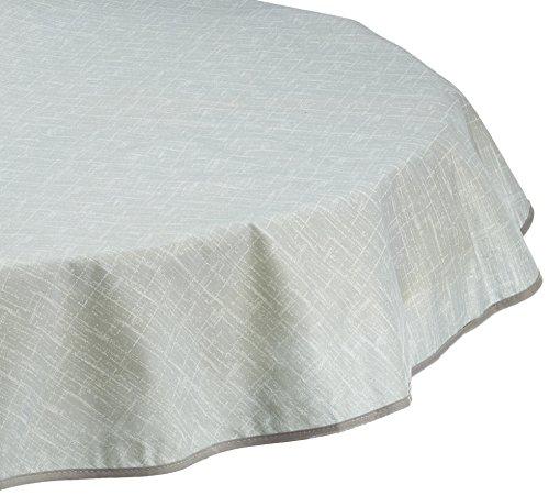 BEST Tischdecke, oval 210 x 160 cm, grau