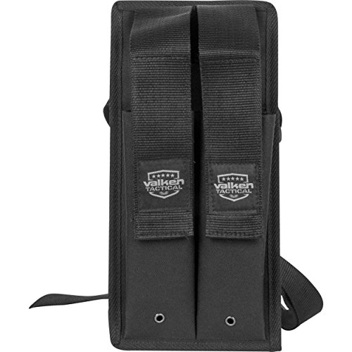 Valken Paintball Kilo 2 Pod Pouch with Web Belt - Black
