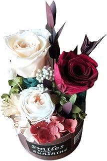 プリザーブドフラワー ドライフラワー バラ ロース 花飾り 誕生日 プレゼント おしゃれ インテリア装飾 Xchumot