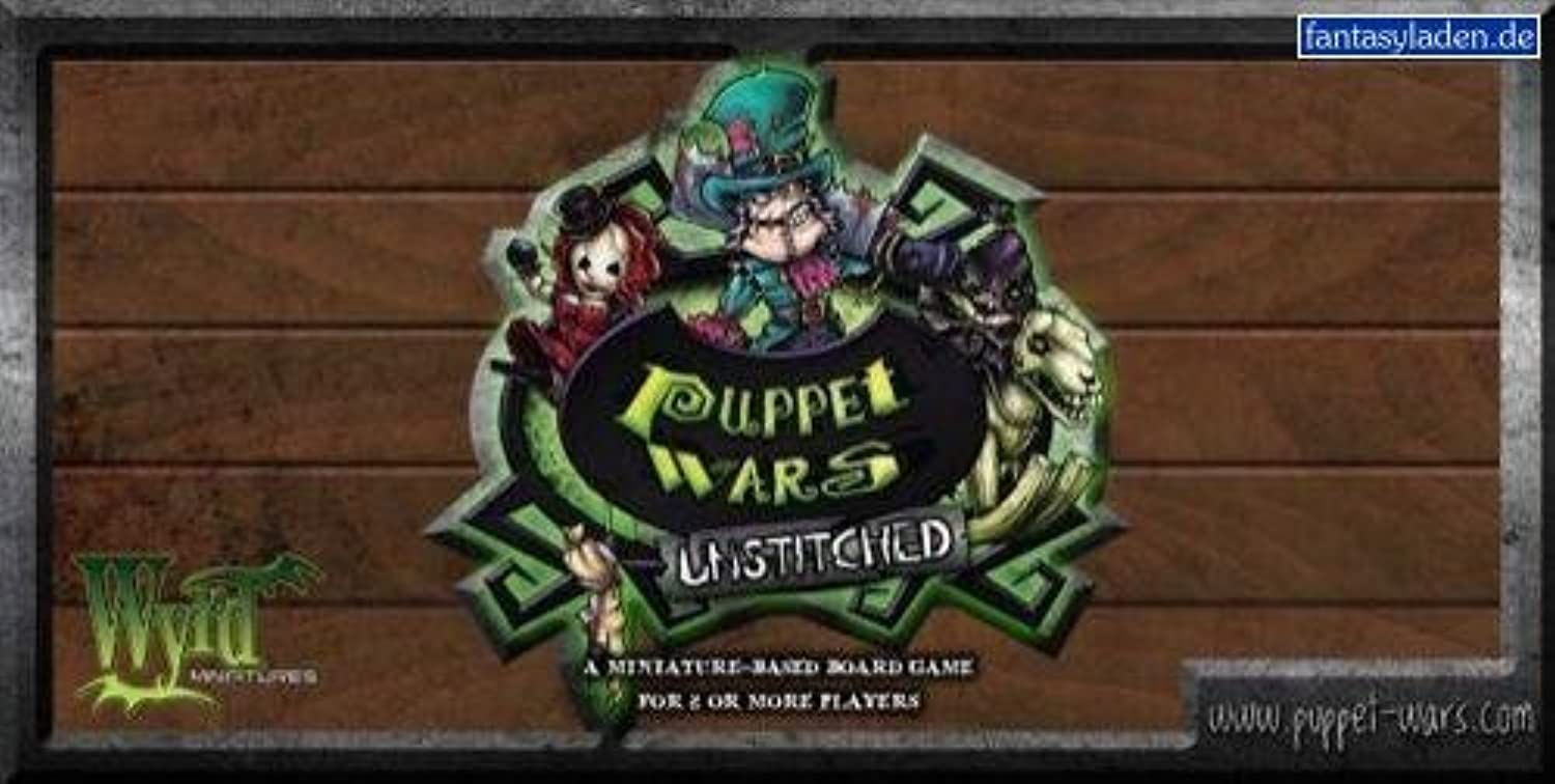 Wyrd Miniatures PW011 Puppet Wars Unstitched by Wyrd Miniatures