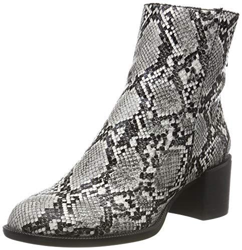 Tamaris Damen 1-1-25947-33 327 Chelsea Boots Stiefeletten, Grau Schlange 220, 39 EU