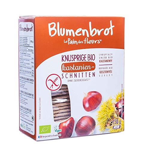 "Priméal Knäckebrot ""Blumenbrot"" mit Kastanien (150 g) - Bio"