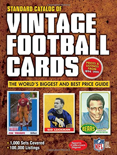 Standard Catalog of Vintage Football Cards