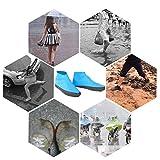 Immagine 1 drfeify scarpe antipioggia impermeabili copriscarpe