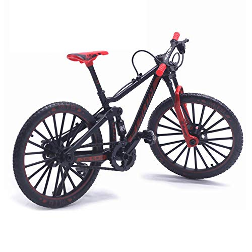 Matedepreso 1:10 Scale Mini Finger Mountain Bikes Alloy Racing Bicycle Model Cool Toy Decoration Crafts for Home
