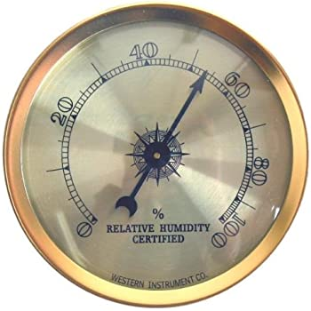 Cigar Oasis Analog Hygrometer by Western Humidor