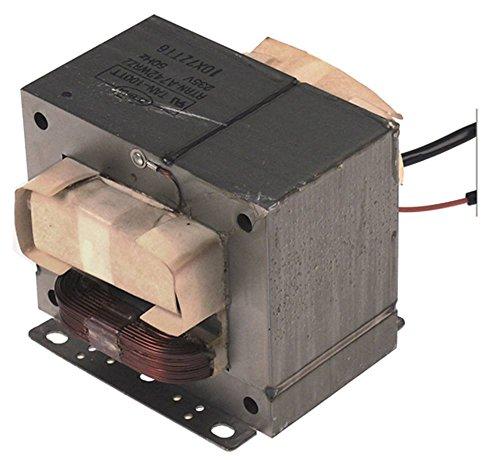 Cookmax Hochspannungstransformator RTRN-A742WRZZ für Mikrowelle 213002 50Hz 235V 235V primär