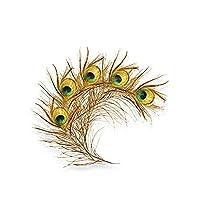 Zdxzc 14.2cm x 12.2cm孔雀の羽の装飾車のステッカー色の高品質