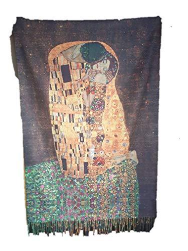 Damen Schale Print nach Gustav Klimt Made in Italy vom mperator Shop