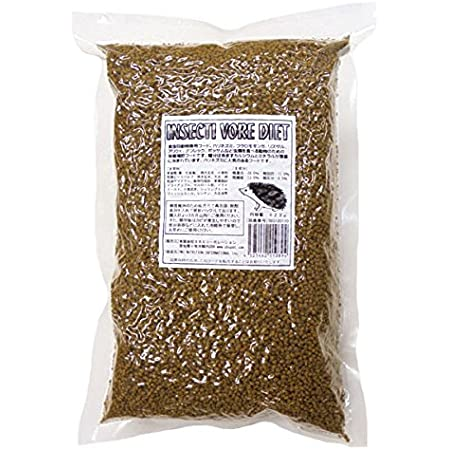 Mazuriインセクティボアフード (食虫動物のための餌) ハリネズミに人気!脱酸素剤入り密封パック623g