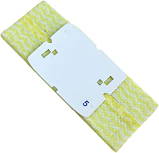 Amaae® For iRobo-t Braava 240/241jet Sweeper Accessories Disposable Mop Wipes 10PC(Color:yellow;Metal:PC)