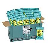Mini Pop!® Mini palomitas de sal y vinagre (Paquete de 24) | Snack vegano, sin gluten ni lácteos