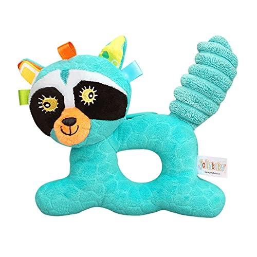 YOUMIYH Bebé Juguete sonajero Pulsera sonajero Calcetines de Animales Pulsera Suave Celdas de Mano y Calcetines de pie 0-12 Meses (Color : E)