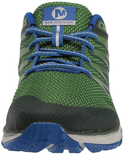 Merrell Bare Access XTR, Zapatillas de Running para Asfalto Hombre, Verde (Lime), 43.5 EU
