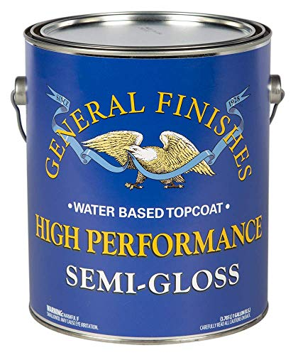 General Finishes High Performance Water Based Topcoat, 1...