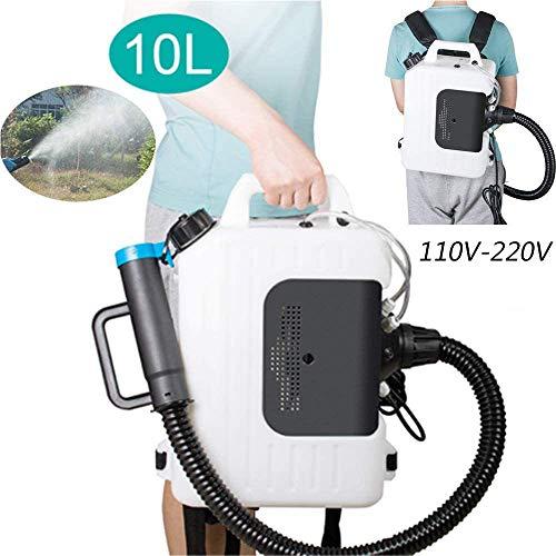 HPDOM 10 L Pulverizador Eléctrico ULV | Mochila para fumigar | Máquina...