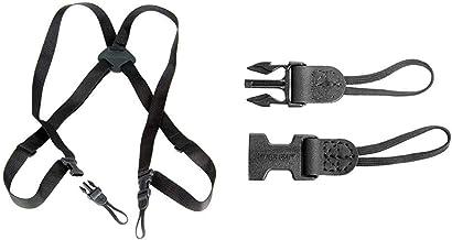 OP/TECH USA Bino/Cam Harness - Webbing & 1301062 Uni-Loop - System Connectors