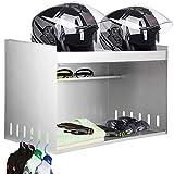 VEVOR Trailer Door Cabinet 29'W x 20'H x 17'D Trailer Cabinet Race, Trailer Cabinets Helmet Bay, Double Mount Aluminum Garage Storage Organizer, Lightweight Trailer Aluminum Helmet Cabinet