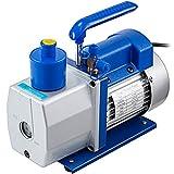 OldFe Vakuumpumpe 220 V / 50 Hz Unterdruckpumpe Vakuumgeräte, Zweistufige Pumpe 1440 U/min Vakuumpumpe 4,5 CFM1-2HP, Unterdruckpumpe 330 ML für Auto