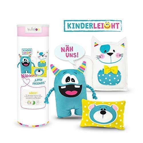 kullaloo KINDERLEICHT - Nähkurs für Anfänger (Kinderleicht Little Friends - Level 1)