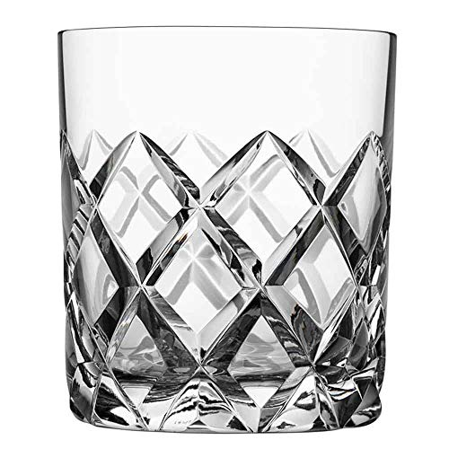 JIAXIAO Ship Wijnglazen, whiskyglazen, nieuw geïmporteerde handgeblazen kristalglas, home whiskey glas 2 - geschenkdoos, geschikt voor feest en rust.