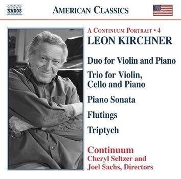 KIRCHNER: Duo for Violin and Piano / Piano Trio / Piano Sonata / Triptych