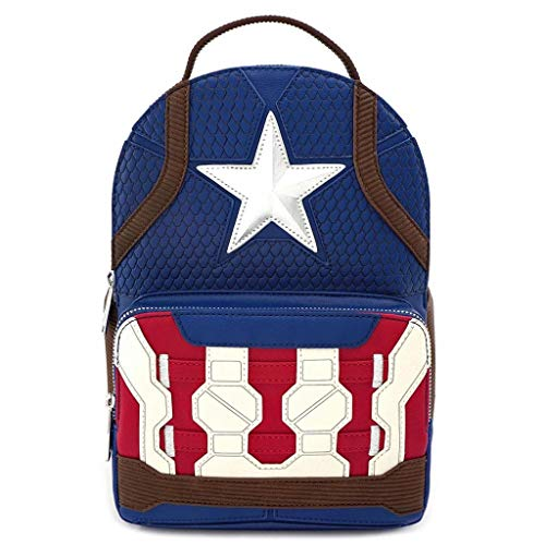 Loungefly Marvel by Backpack Captain America Endgame Hero Bags