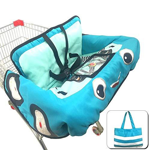 Baby Kinder Supermarkt Einkaufswagen Kissen Esszimmerstuhl Schutz Sicherheit Sichere Reise Tragbares Kissen, Baby Einkaufswagen Abdeckung