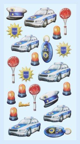 Softy-sticker politie