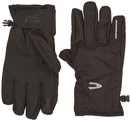 camel active Herren 4G35 Handschuhe, Schwarz (Black 9), Medium