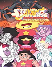 Steven Universe Colouring Book: 50+ exclusive illustrations of The Crystal Gems' magical beings who are the self-appointed guardians of the universe.