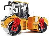 Osmlvjj Construction Engineering Model Car, 01:35 Doppia Scala in Acciaio a rulli Diecast Toy Car (5.7inch * * 2.36Inch 3.54Inch)