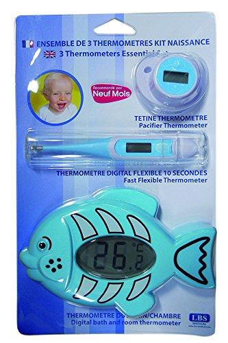LBS Medical MT905 - Set de 3 termómetros infantiles