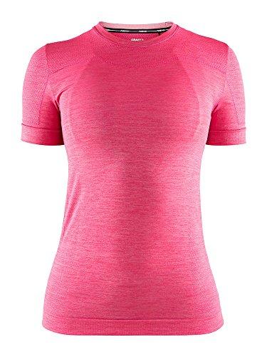 Craft Damen Sicherung Knit Komfort RN Short Sleeve Jersey L Fantasy